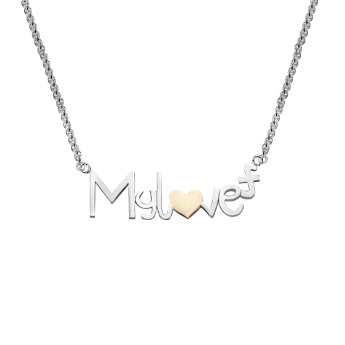cbe5f7752515c5 My Love Forever Necklace | Dazzling Bloom